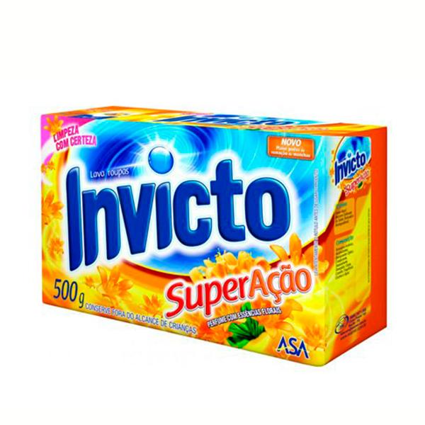 Lava Roupa Invicto - 500g