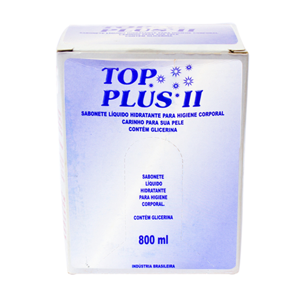 Sabonete Líquido - Hidratante - Top Plus II - 800ml