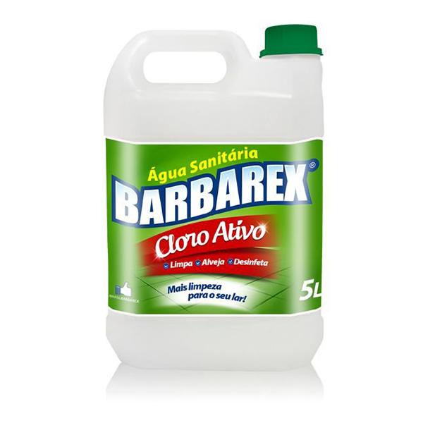Água Sanitária - Barbarex - 5 Litros
