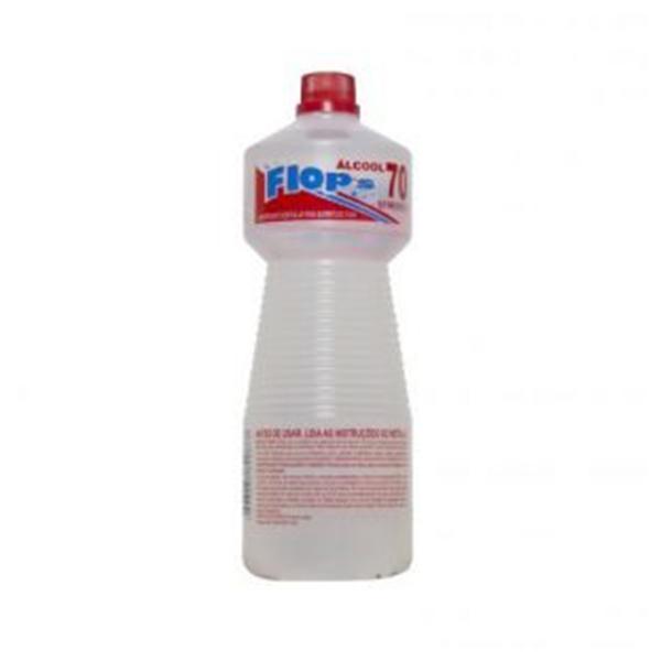 Álcool Líquido 70º - Flops - 1 Litro
