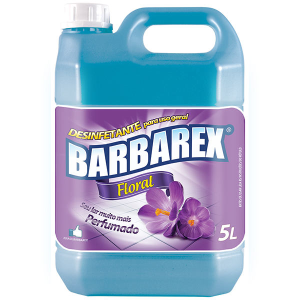 Desinfetante Floral - Barbarex - 5 Litros