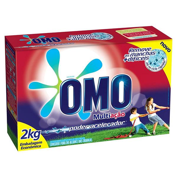 Lava Roupas em Pó - Omo - 2 kg