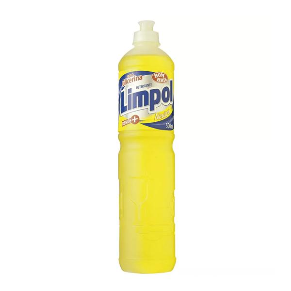 Detergente Neutro - Limpol - 500 ml