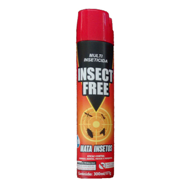 Inseticida Aerosol - Insect Free - 300 ml