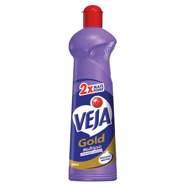 Multiuso Lavanda e Álcool - Veja - 500 ml