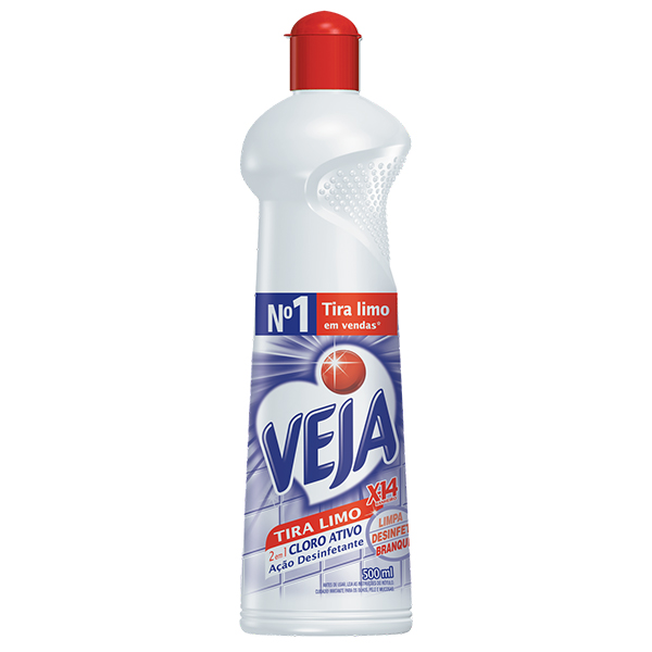 Veja X14 Tira Limo - Squeeze - 500 ml