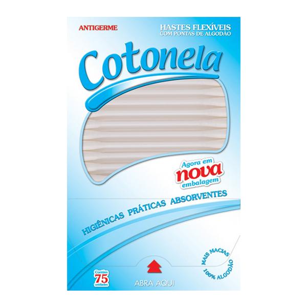 Hastes Flexíveis - Cotonela - 75 und