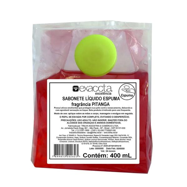 Sabonete Espuma Extrato de Pitanga - Exaccta - 400 ml