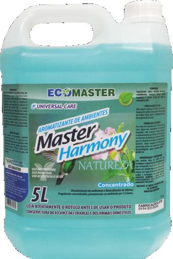 Master Harmony Natureza - 5 lts - Aromatizador