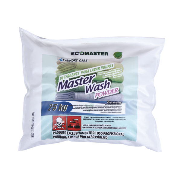 Master Wash Powder - Detergente - 25 kg
