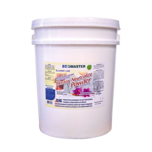 Master Neutralize Powder - Detergente - 20 kg