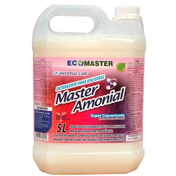 Master Amonial - 5 lts - Desengordurante