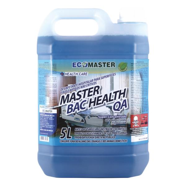 Master Bac - Health QA - 5 lts - Desinf. Quat.