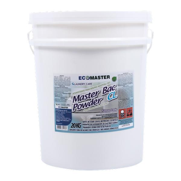Master Bac Powder - CL 20 KG - Alvej. Clor. Po