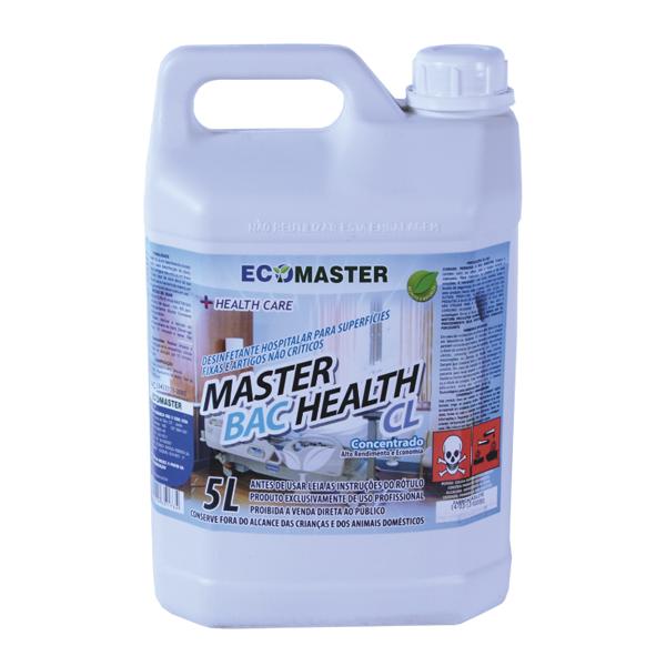 Master Bac Health Cl - 5 lts - Desinf. Clor
