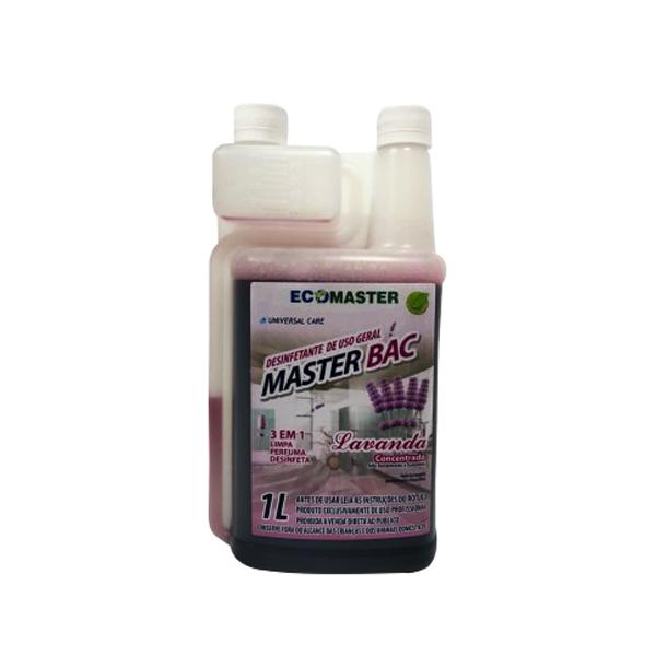 Master Bac Lavanda - 1 lt - Desinfetante