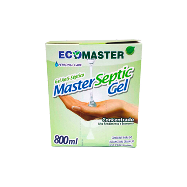 Master Septic Gel - 800 ml - Alcool Gel