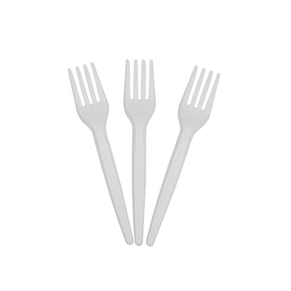 Garfo Descartável Sobremesa - pct 50 uni