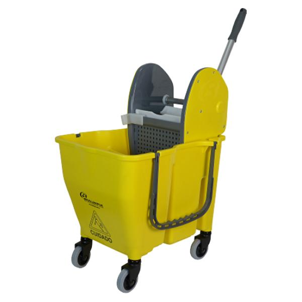 Carro Doblô Sem Divisória - Amarelo - 28 Litros