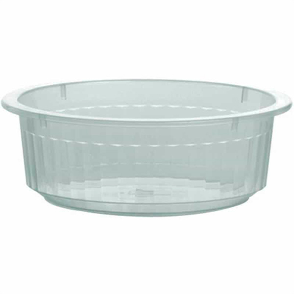 Bacia 5,5L - Canelada - Transparente