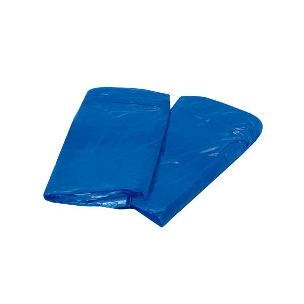 Saco lixo - 100 Lts - 100 uni - Azul - Servlimp